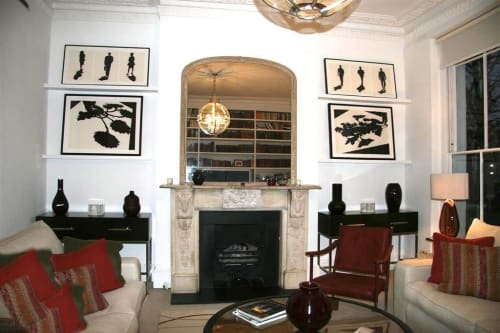 Paintings by Mario M. Muller seen at Private Residence, London - SchattenFreude paintings