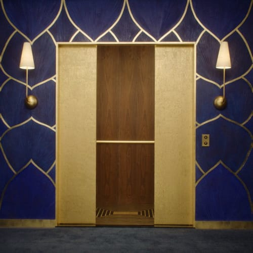 Sconces by Edition Modern seen at The Beverly Hilton, Beverly Hills - ROYERE 1 wall sconce