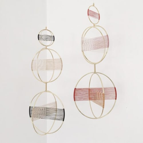Sculptures by Attalie Dexter Home + Accessories at Private Residence, LA, Los Angeles - Orbital Mobile