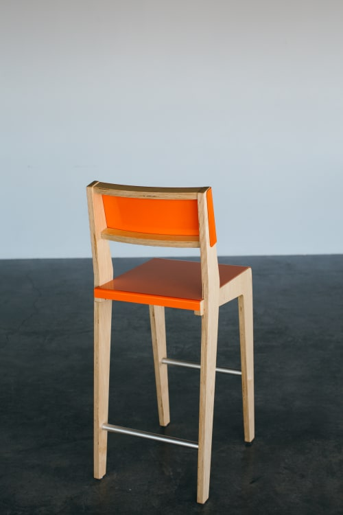 Chairs by Housefish seen at Private Residence | Denver, CO, Denver - Lock Bar Stool