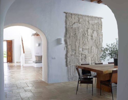 Wall Hangings by MACRO MACRAME by Maeve Pacheco seen at Private Residence, Carmel-by-the-Sea - MACRAME & WEAVING