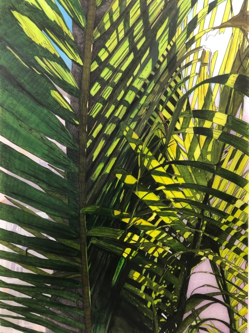 Paintings by Jeremy Wagner Studio seen at Private Residence, New York - Arceda Palm