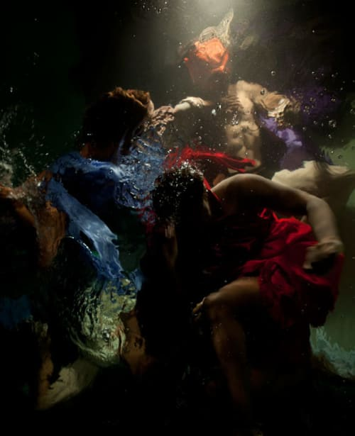 "Photography by Christy Lee Rogers at Private Residence, Florida, Belle Isle - ""The Innocents"" Underwater Photograph"