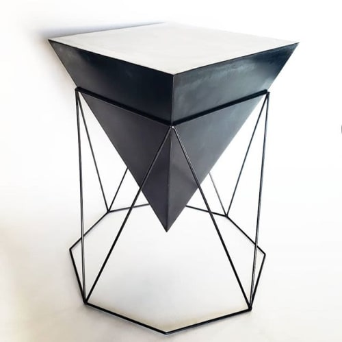 Tables by Josh Makes seen at Private Residence, New York - side table