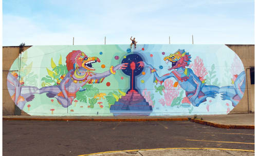 Seba Bastardo - Murals and Street Murals