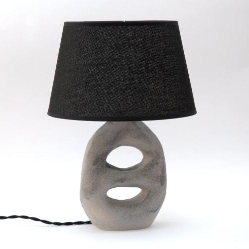 Lamps by niho Ceramics seen at Creator's Studio, Sitges - Amphora Lamp - Grey