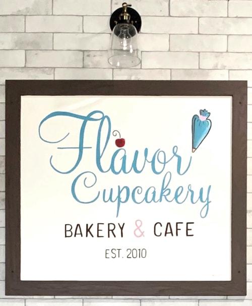Flavor Cupcakery & Bake Shop, Bakeries, Interior Design