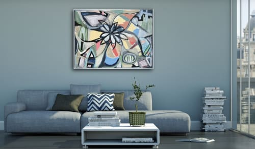 Paintings by Heather Little seen at Private Residence, Adelaide - Heather Little