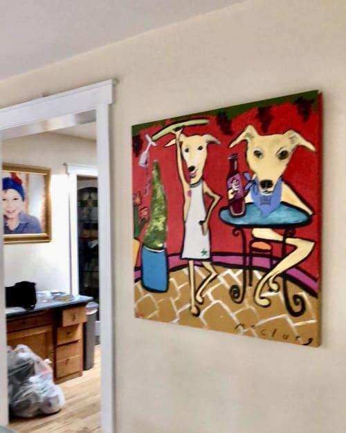Paintings by Lulu Bella Art seen at Private Residence, Denver - Painting