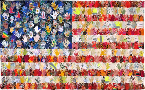 E Pluribus Art Flags by Muriel Stockdale - Interior Design and Renovation
