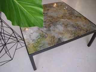 Tables by Vesna Bricelj seen at Industry City, Brooklyn - Sirocco coffee table