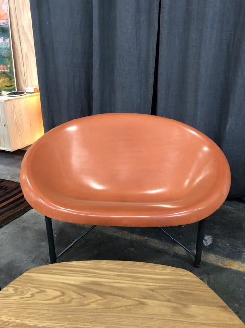 Chairs by Galanter & Jones seen at Bay Area Made x Wescover 2019 Design Showcase, Alameda - Helios Love Chair