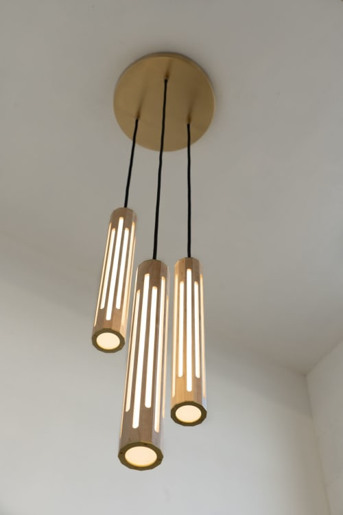 Pendants by Designed with Purpose seen at Designed with Purpose, Baltimore - Lantern Pendants