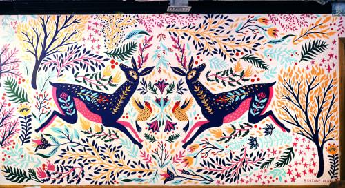 Roxane Dewar Illustration - Murals and Art