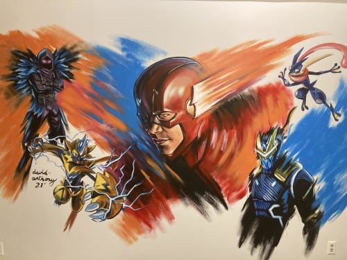 Murals by Art By David Anthony seen at Private Residence, Brampton - Jahlion's Youtube Room