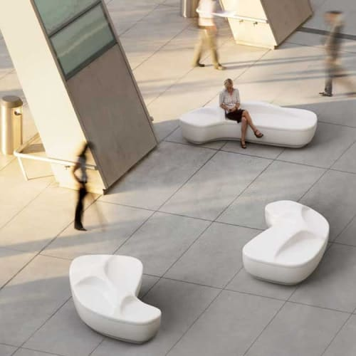 Benches & Ottomans by Peter Pepper Products seen at Compton, Compton - Oasis Bench
