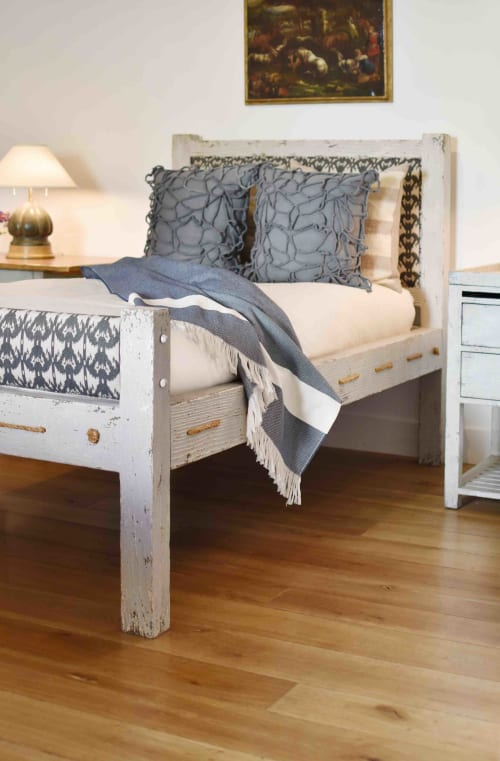 Beds & Accessories by Mulligan's seen at Mulligans, West Hollywood - Aspen Bed