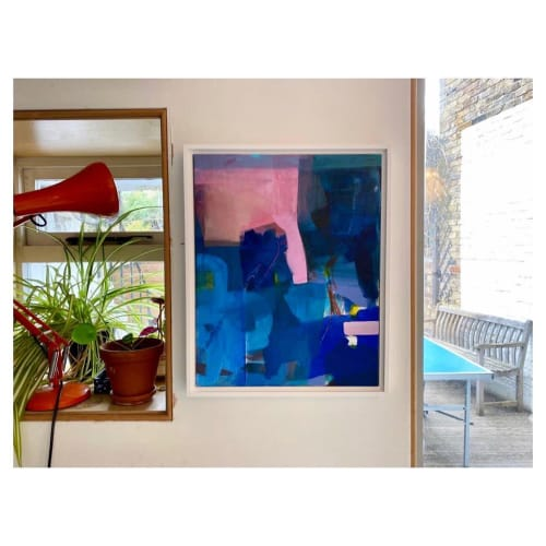 """Paintings by Kate Ryan Studio seen at Private Residence, London - """"Emergence"""" Painting"""