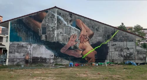 Alaniz - Murals and Street Murals