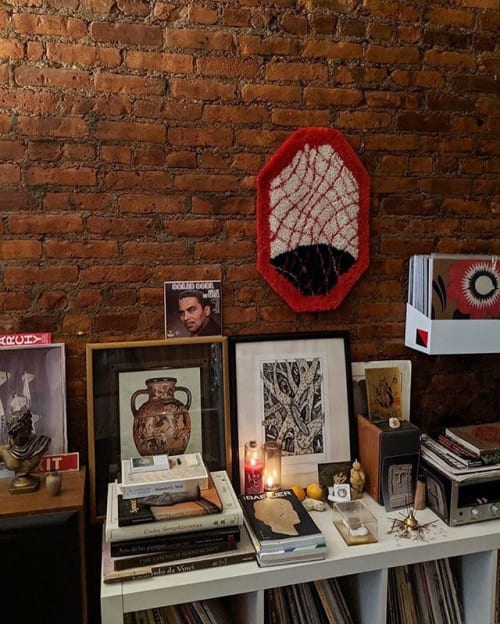 Wall Hangings by Sam Crow Rugs seen at Private Residence, Brooklyn - OCT