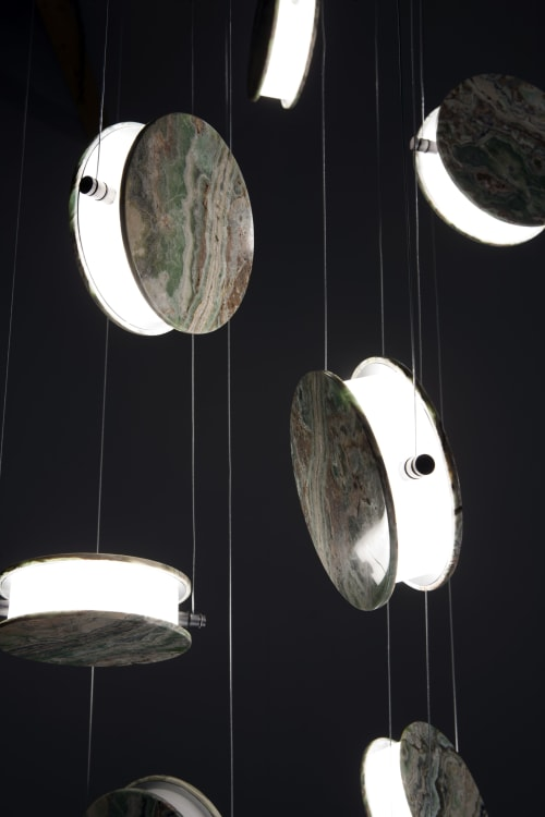 Lamps by Bartoli Design seen at Private Residence - Clis