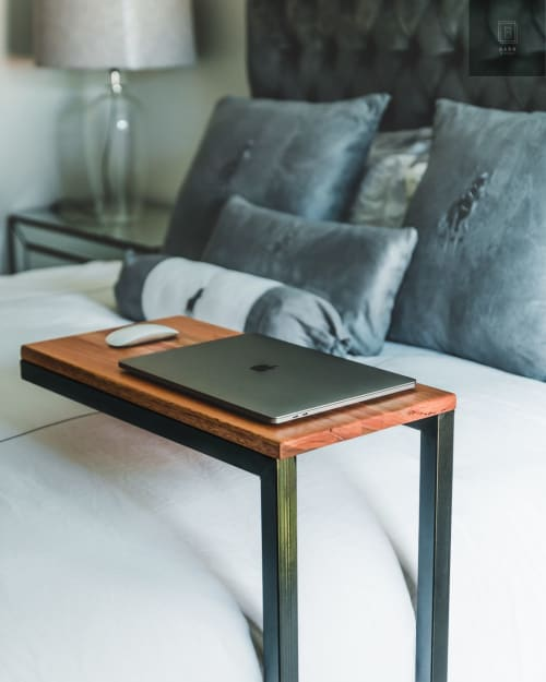 Tables by Bark & Steel seen at Private Residence, Pretoria - The Sidekick
