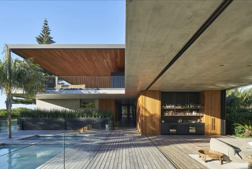 Architecture by MCK Architects seen at Private Residence - Sunrise House