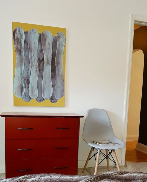 Paintings by Laurie Skantzos seen at Private Residence, Guelph - Painting