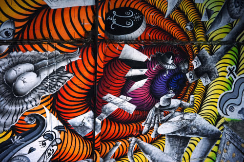 KERO ZEN - Street Murals and Murals