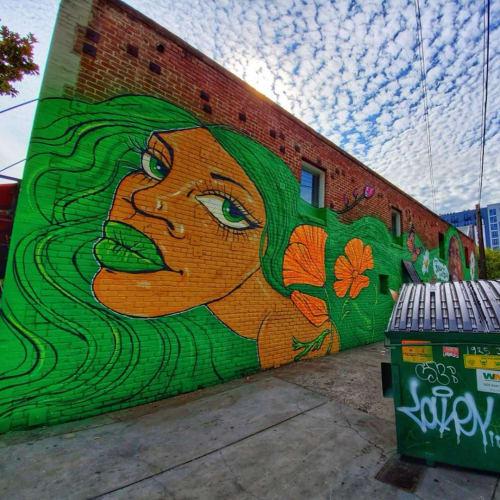 Street Murals by Ursula Xanthe Young seen at Sacramento, Sacramento - Wide Open Walls x Few & Far Women 2019 - Sacramento
