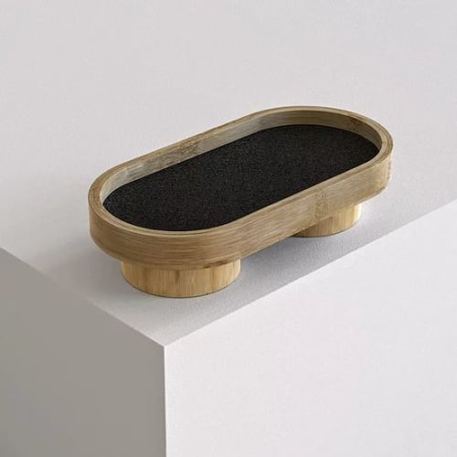 Tableware by Mianzi seen at Private Residence, New Delhi - Podium Tray Oval S