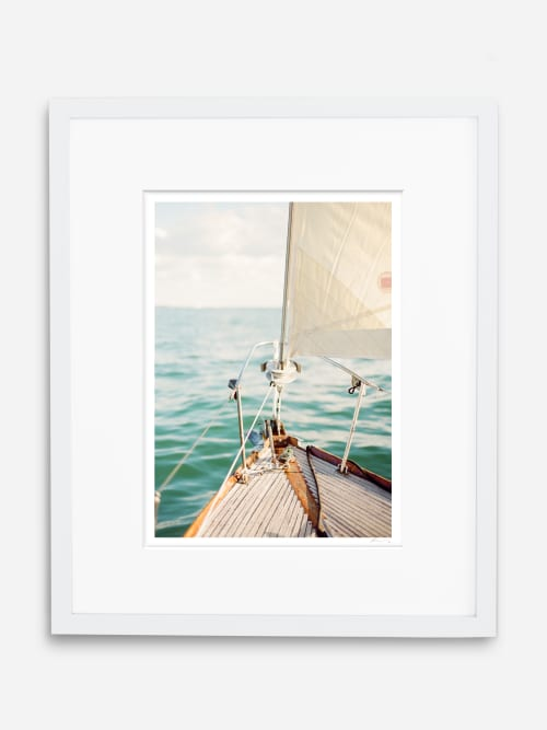 Photography by KT Merry Print Shop seen at Private Residence, Laguna Beach - Sail Away and Maldives Staircase