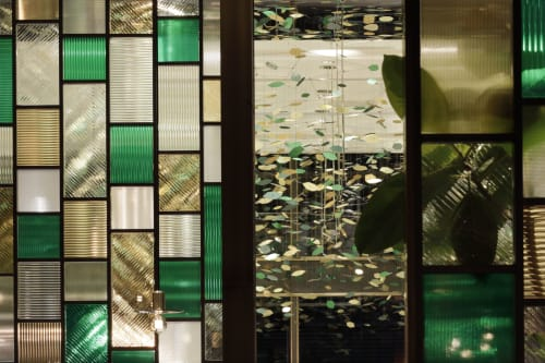 Interior Design by Roito seen at 日本、兵庫県神戸市東灘区向洋町西5丁目3 モロゾフ, Kobe - MOROZOFF FLAGSHIP STORE