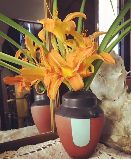 Vases & Vessels by Sarah Wolf seen at Private Residence, Portland - Ceramic Vase