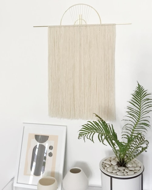 Wall Hangings by Attalie Dexter Home + Accessories at Private Residence, Los Angeles - Medium Oversized Wall Hanging
