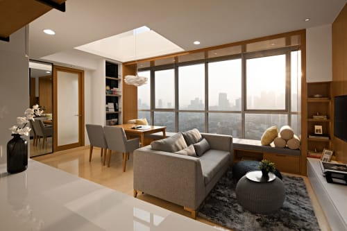Interior Design by TSDS Interior Architects seen at Private Residence - Ciputra World 2 Apartment Private Residence Jakarta