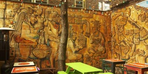 Murals by Jeramy Turner Murals seen at Rachel's Restaurant, Syracuse - Indoor Mural