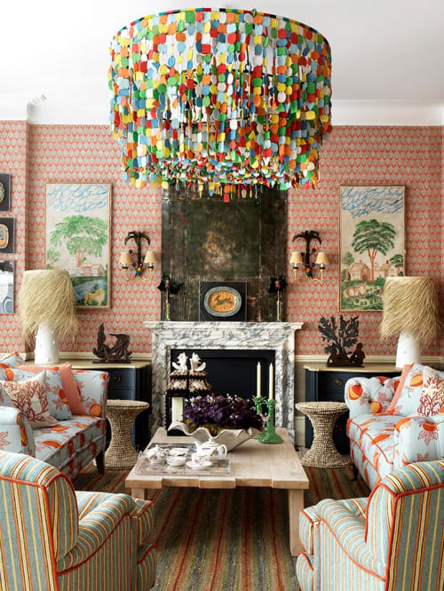 Chandeliers by Mud Studio , South Africa seen at Private Residence, London - T&G Chandelier