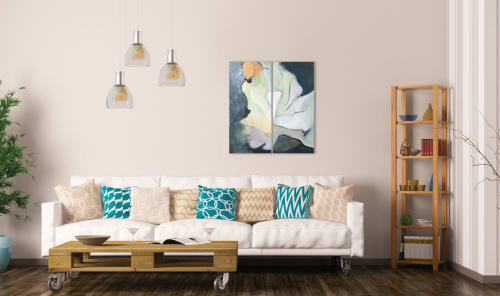 Paintings by Cecilia Arrospide seen at Private Residence, Lima - CAPULLOS