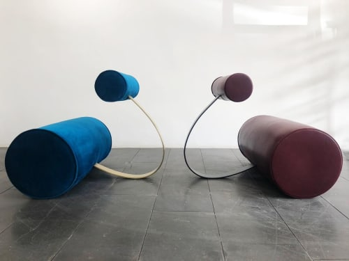 Chairs by 1Nayef Francis seen at Nayef Francis Design Studio, Beirut - Loop