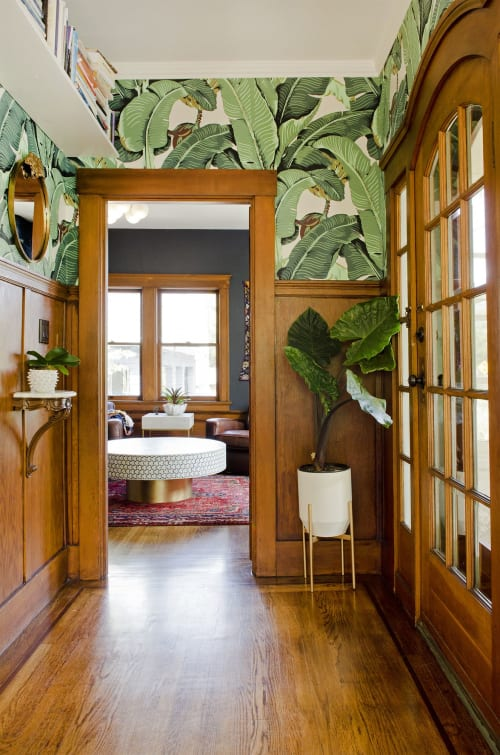Wallpaper by Designer Wallcoverings seen at Private Residence, Mill Valley, Mill Valley - Wallpaper