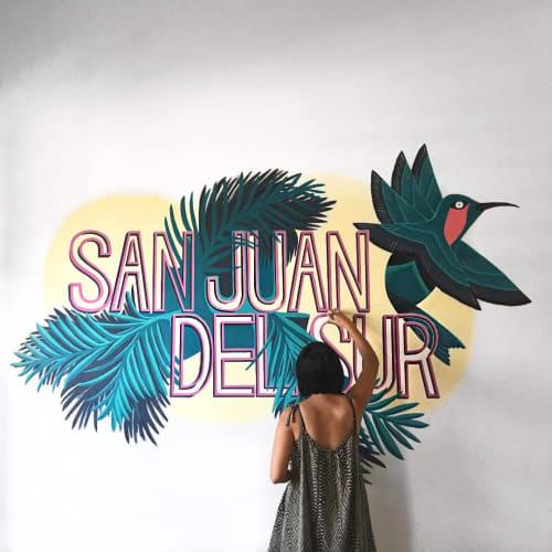 Murals by Sophi Odling seen at San Juan del Sur, San Juan del Sur - Cloud 9 Boutique Hotel