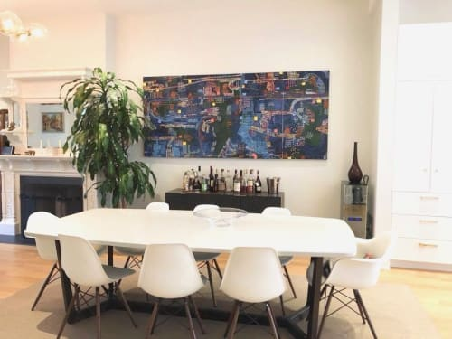 Paintings by Joseph Conrad-Ferm seen at Private Residence, Brooklyn - Painting