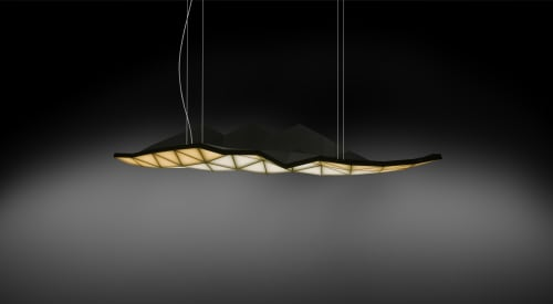 Lamps by Tokio Furniture And Lighting seen at Jacob K. Javits Convention Center, NYC, New York - Tri Light
