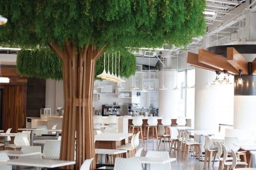 Interior Design by Gina Muzingo / Muzingo Associates seen at Platform 35 Markethall, Los Angeles - Interior Design