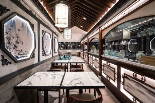 Interior Design by Studio Hiyaku seen at Jiang Nan Gallery, Sydney - Jiangnan Gallery