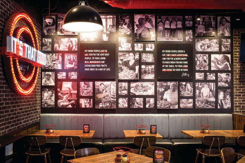 Signage by DesignScout seen at Anthony's Coal Fired Pizza, Sand Lake - Anthony's Coal Fired Pizza