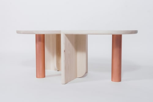 Tables by VOLK Furniture seen at At Land, Dobbs Ferry - St. Charles Occasional Tables