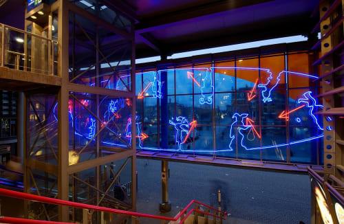 Titia Ex - Lighting and Public Sculptures