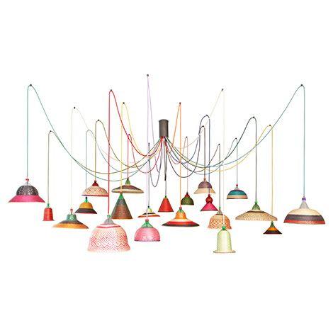 Lighting Design by Pet Lamp by Alvaro Catalan de Ocon seen at Colombia - Pet Lamp Colombia Eperara Siapidara